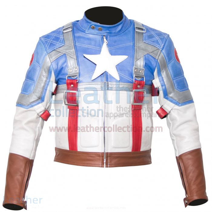 Captain america leather jackets