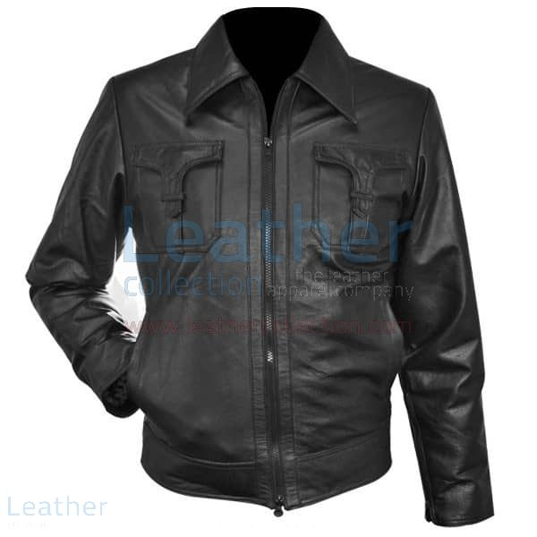 Women Leather Shirt