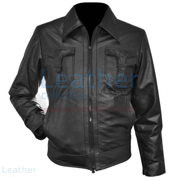 Women Leather Shirt
