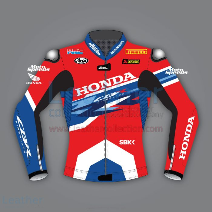 Honda leather motorcycle jacket