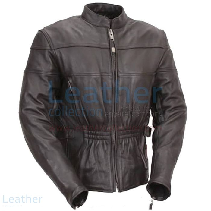 Retro motorcycle jacket