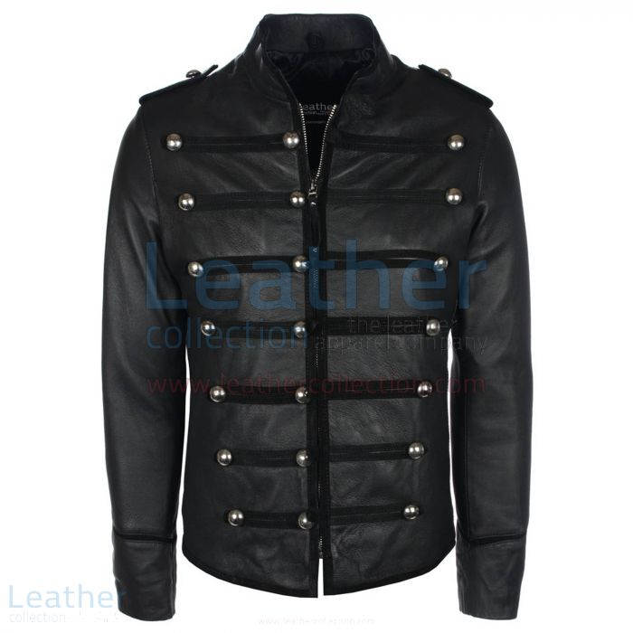 Prince leather jacket