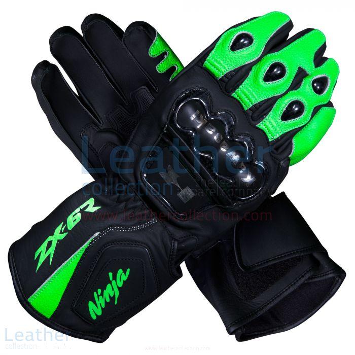 Kawasaki motorcycle gloves