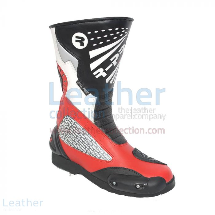 Retro motorcycle boots