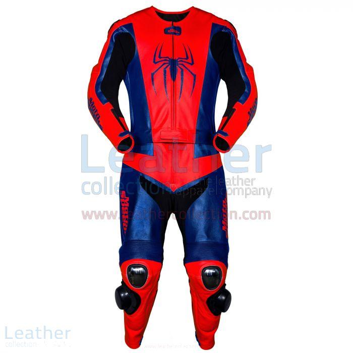 Spiderman leather suit