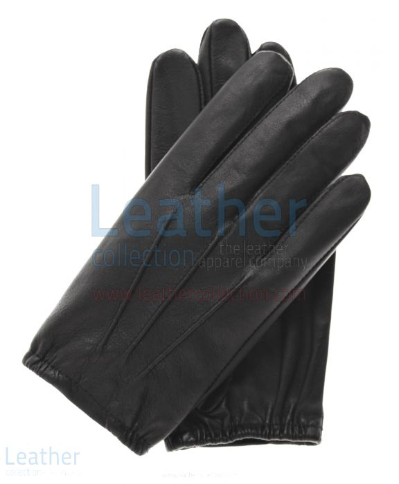 Thin leather gloves mens