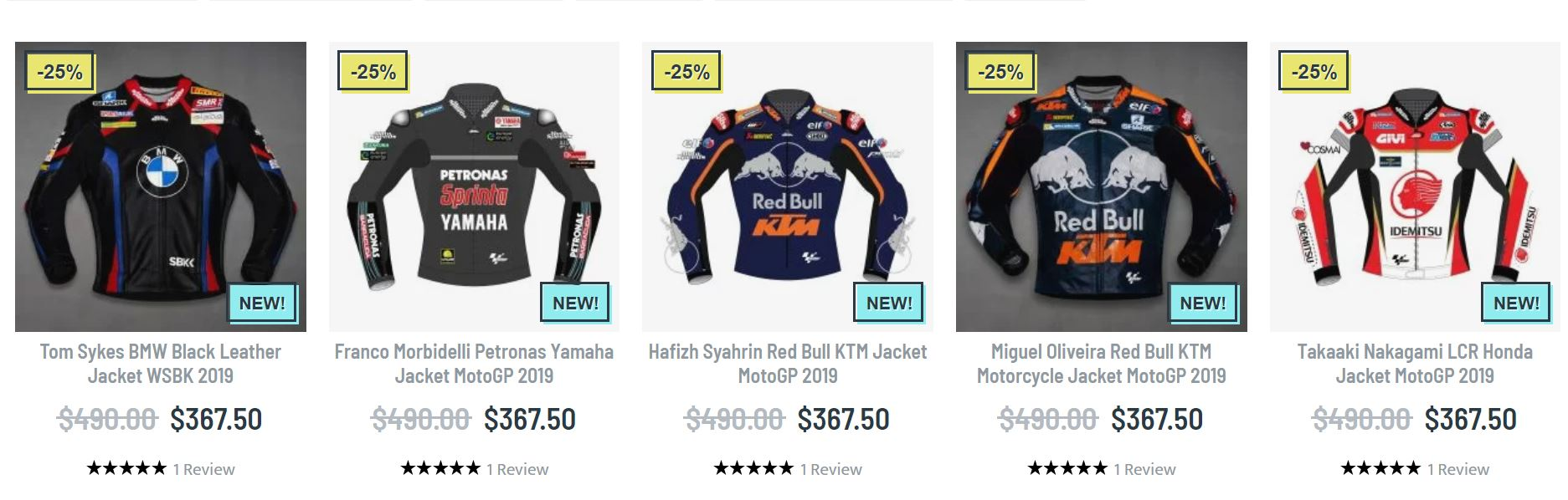 Motogp motorcycle jacket