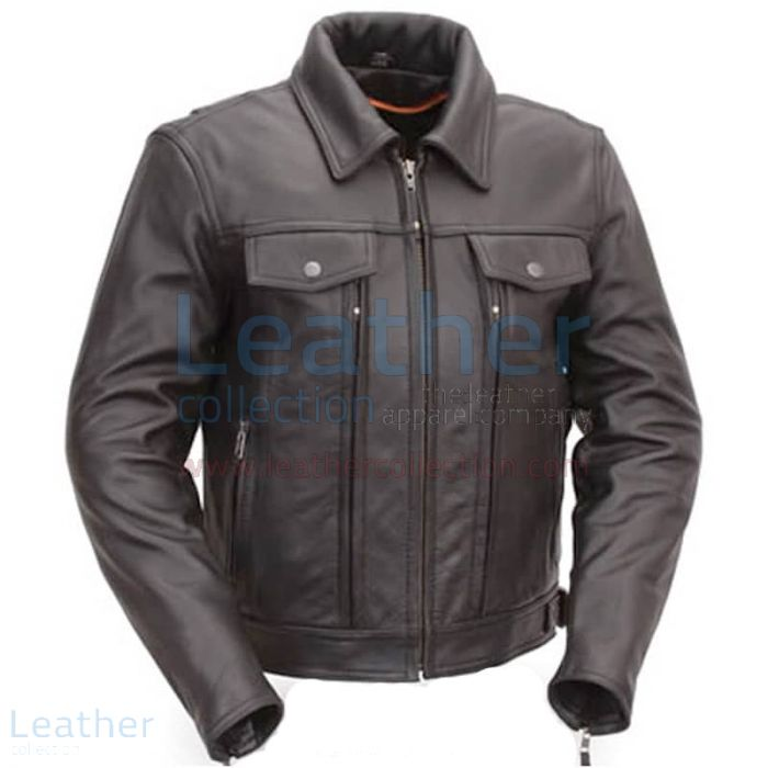 Cruiser motorcycle jacket