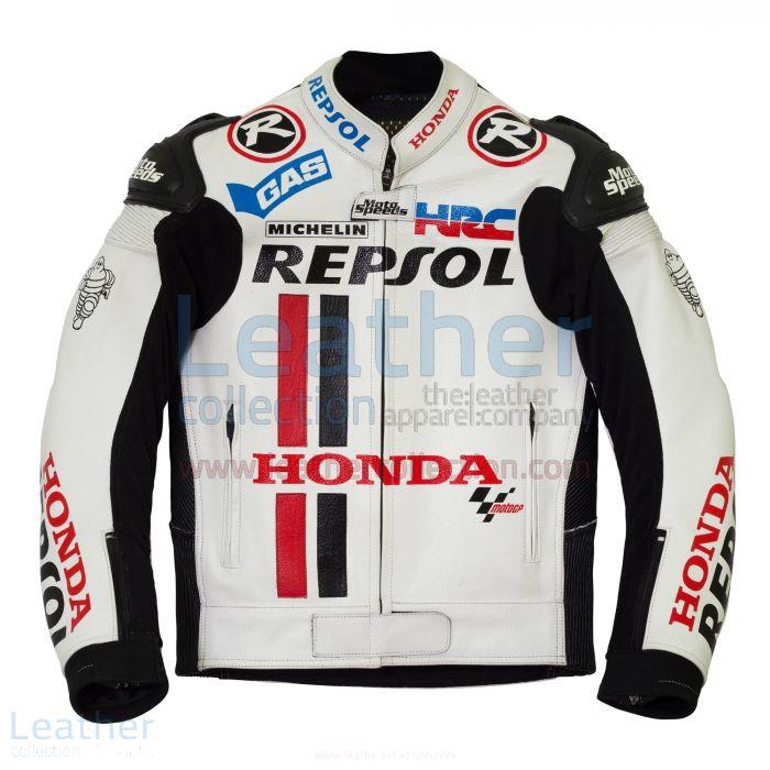 White racing jacket