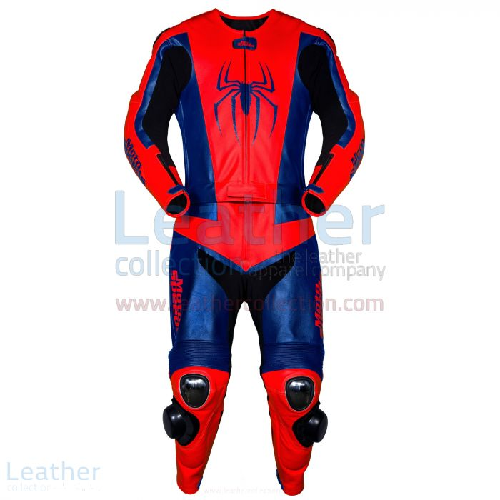 Leather Spiderman suit