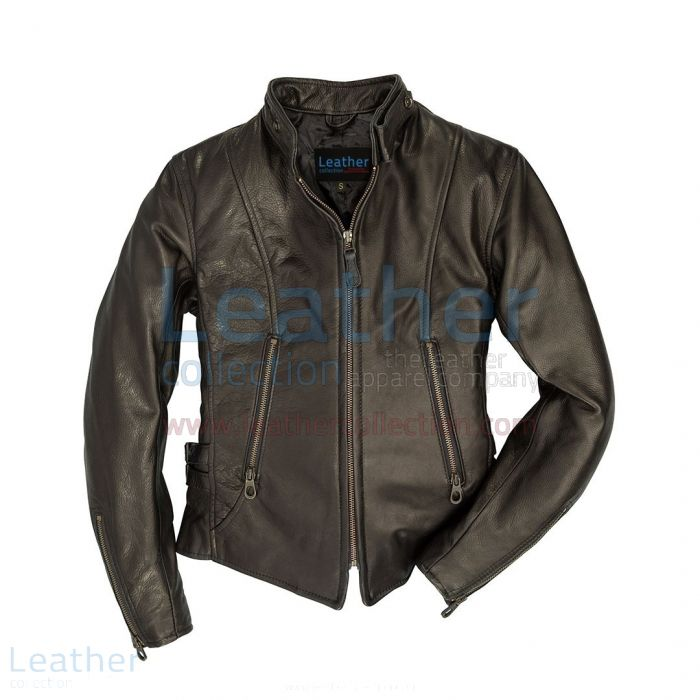 Motorcycle jacket cafe racer