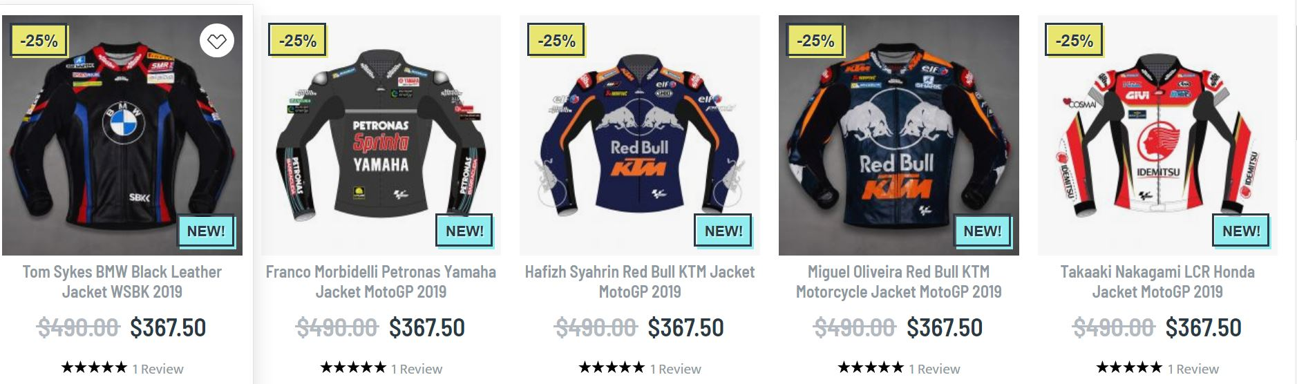 Motogp riding jacket