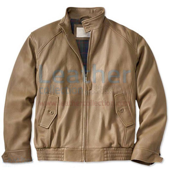 Pilot bomber jacket