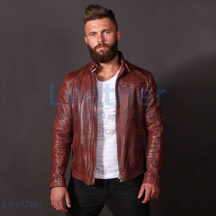 Leather jacker
