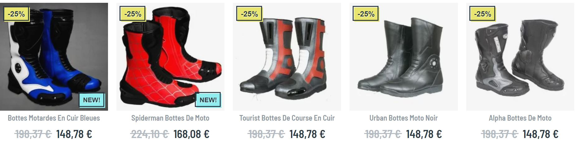chaussure moto homme