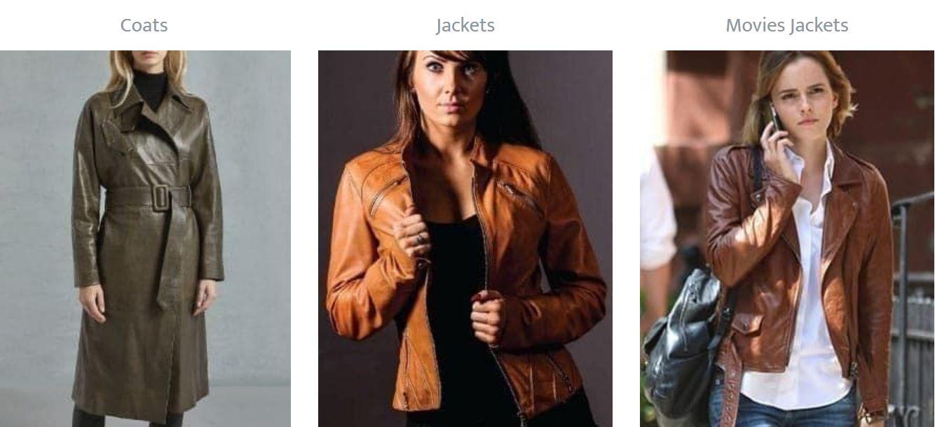 women in leather